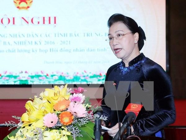 阮氏金银:各级人民议会须深化改革 充分发挥创造力 全面履行职责 hinh anh 1