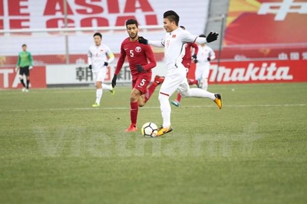 2018亚足联U23锦标赛:点球大战4-3击败卡塔尔 越南再创造大奇迹 首次晋级决赛 hinh anh 1