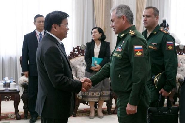 老挝与俄罗斯加强防务合作 hinh anh 1