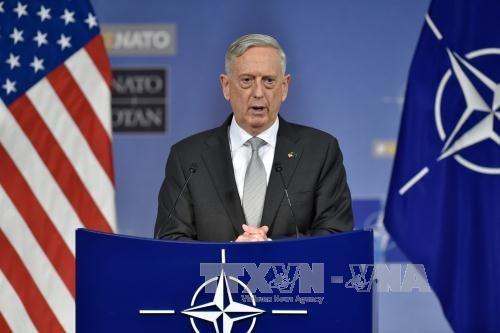 美国国防部长对越南进行正式访问 hinh anh 1