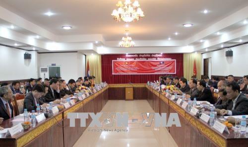 越南胡志明市与老挝沙湾拿吉省建立友好合作关系 hinh anh 1