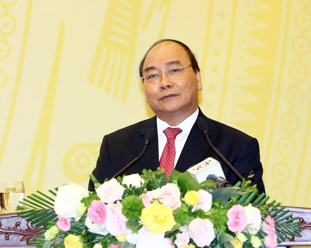 """阮春福总理:为共同利益提供参谋 坚决反对""""利益集团"""" 坚持反腐倡廉 hinh anh 1"""