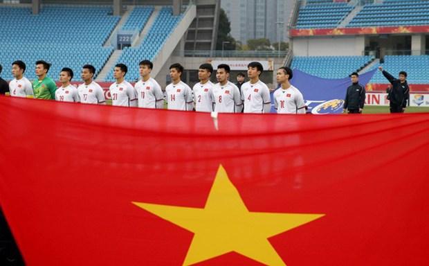 2018年U23亚洲杯决赛:越南建议中国向越航和越捷球迷的航班签发飞行许可证 hinh anh 1