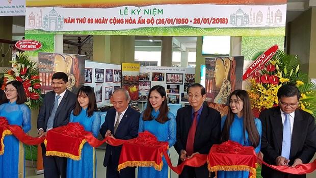 印度在胡志明市举行国庆69周年纪念典礼 hinh anh 1