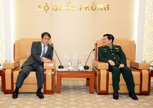 日本驻越大使:越日关系正处于历史上最好的时期 hinh anh 1