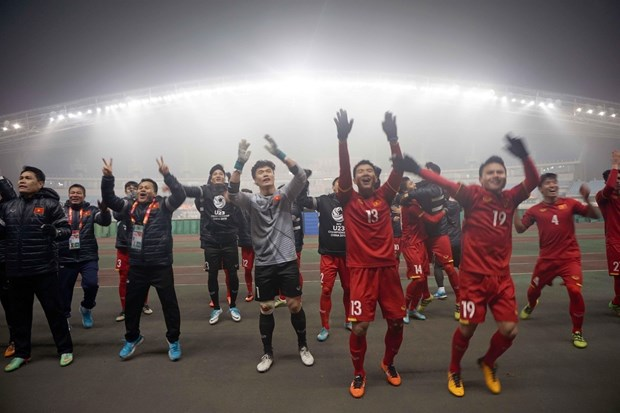 中国媒体盛赞越南U23球队在亚锦赛的战绩 hinh anh 2