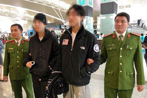 越南向韩国移交两名通缉犯 hinh anh 2