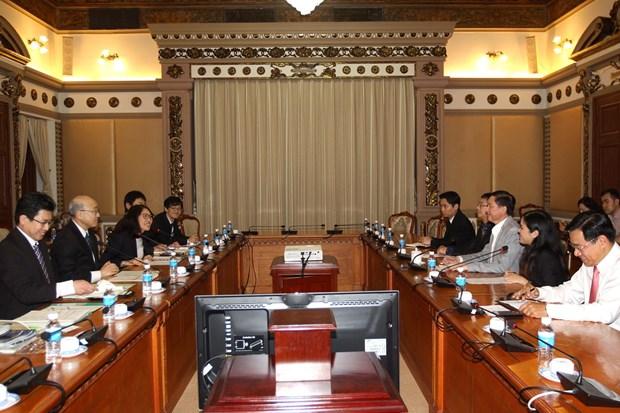 胡志明市推进与日本宫城县的合作 hinh anh 1