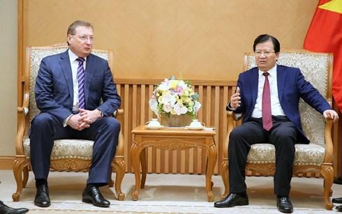 越南与俄罗斯加强石油领域合作 hinh anh 1