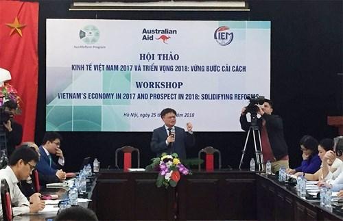 2018年越南经济展望:坚定改革之路 hinh anh 1