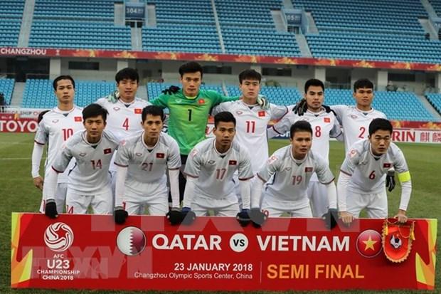 2018年U23亚洲杯决赛加油团旅游线路颇受越南球迷欢迎 hinh anh 1