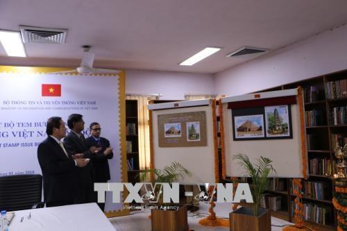 越南与印度发行越印建交45周年纪念邮票 hinh anh 2