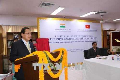 越南与印度联合发行邮票 hinh anh 1