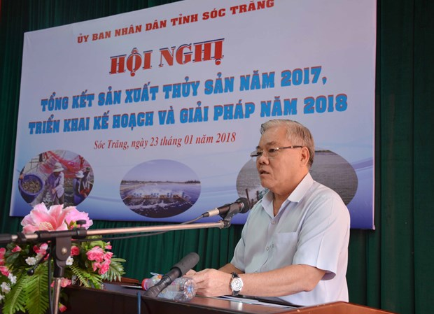 朔庄省力争至2020年水产品年产量达34.8万吨 hinh anh 1