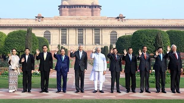 东盟—印度建立对话伙伴关系25周年纪念峰会发表《新德里宣言》 hinh anh 1