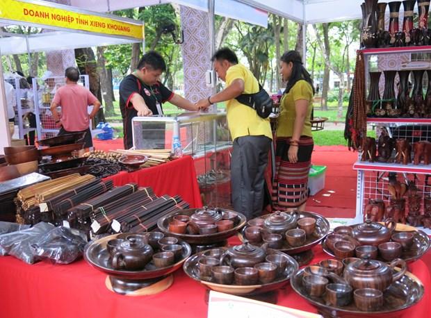 采取措施促进胡志明市与老挝贸易往来 hinh anh 1