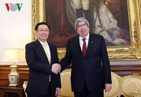越南政府副总理王廷惠访问葡萄牙 hinh anh 1