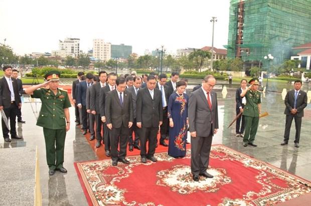 胡志明市委书记阮善仁圆满结束对柬埔寨的访问 hinh anh 1