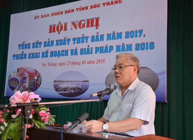 朔庄省努力实现到2020年水产品产量达34.8万多吨 hinh anh 1