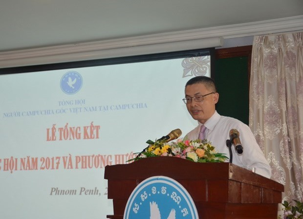 越裔柬埔寨人总会为加深两国和两个民族的友谊贡献智慧和力量 hinh anh 1