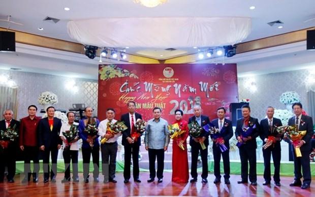 旅居老挝越南人喜迎2018年戊戌年新春 hinh anh 1