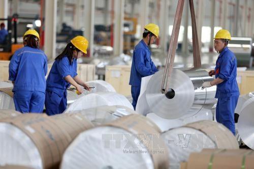 东盟与中国贸易金额创新高 hinh anh 1