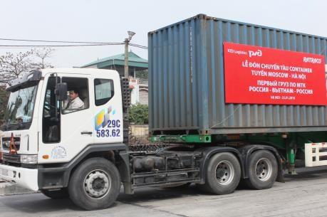 越南—俄罗斯首条集装箱专列正式开行 hinh anh 2