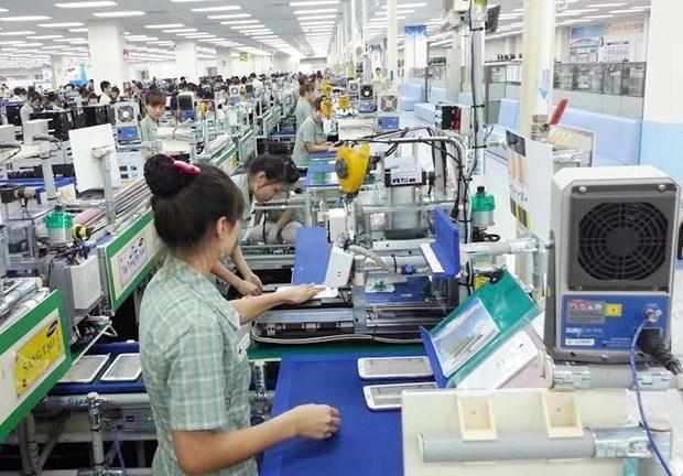2018年1月上半月越南商品出口额达92.57亿美元 hinh anh 1