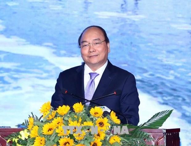 越南政府总理阮春福出席2018年薄辽省投资促进会 hinh anh 1