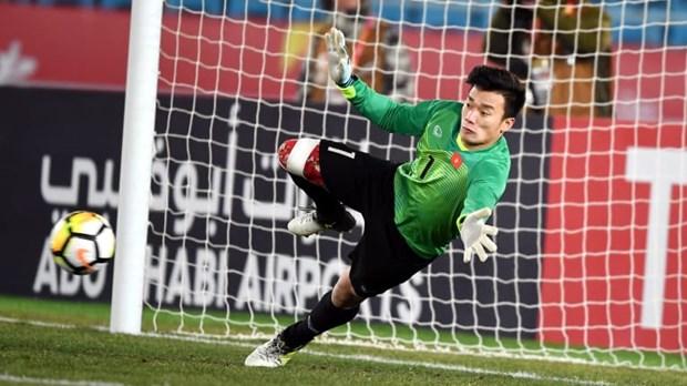 """越南U23足球队两名代表入选U23亚洲杯的""""最佳阵容"""" hinh anh 1"""