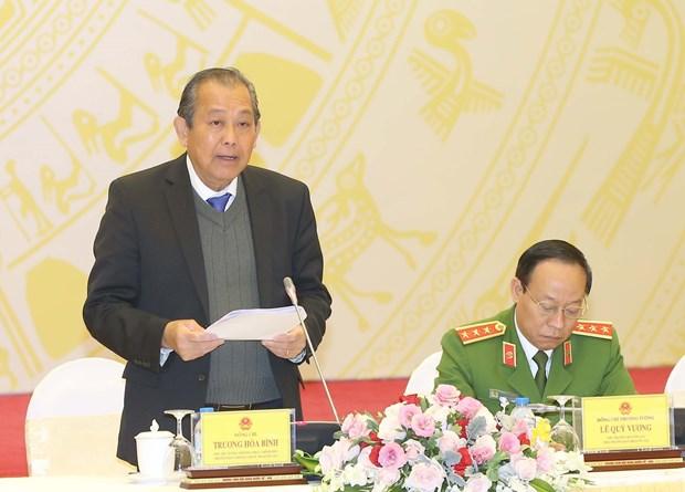 张和平副总理:抓紧健全惩治和预防腐败机制 确保威慑常在 hinh anh 1