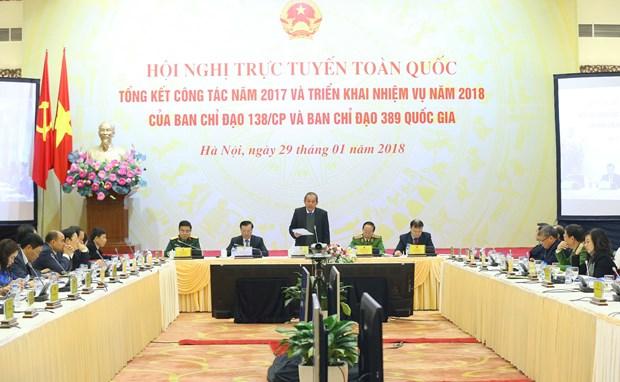 张和平副总理:抓紧健全惩治和预防腐败机制 确保威慑常在 hinh anh 2