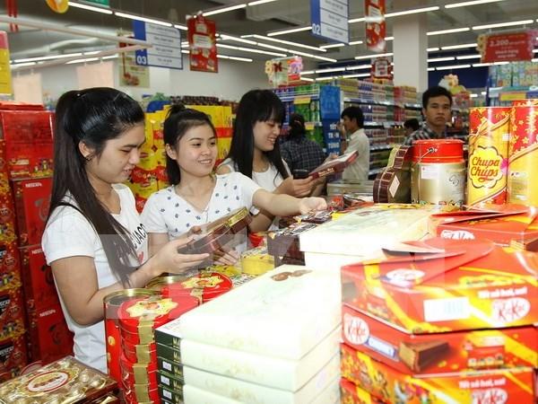 诸多商品价格上升致使1月份CPI上涨0.51% hinh anh 1