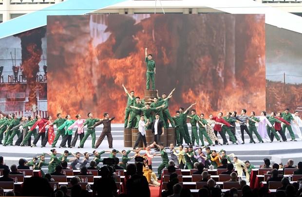 1968年戊申春季攻势50周年纪念典礼在胡志明市举行 hinh anh 1