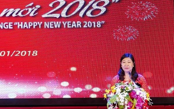 """""""迎2018新年""""国际艺术交流活动有助于加强越南人民与世界各国人民的友谊 hinh anh 1"""
