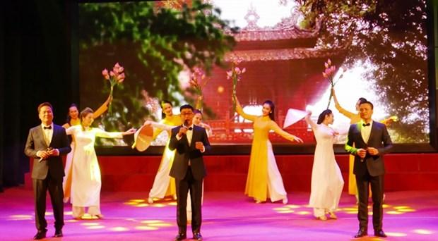 """""""迎2018新年""""国际艺术交流活动有助于加强越南人民与世界各国人民的友谊 hinh anh 2"""