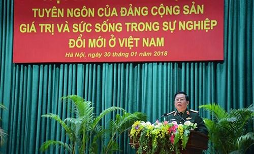《共产党宣言》——在越南革新事业中的活力与价值 hinh anh 1
