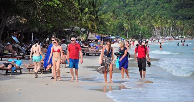 2018年1月富国岛接待游客达近26万人次 hinh anh 1