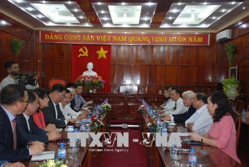 韩国企业对越南平福省工业区进行投资 hinh anh 1