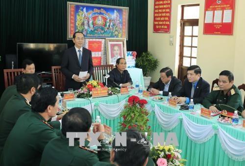 越南国家主席陈大光走访嘉莱省 hinh anh 2