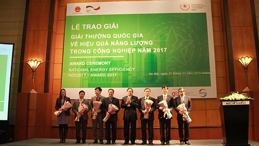 2017年国家工业中能源有效利用奖:10家公司获奖 hinh anh 1