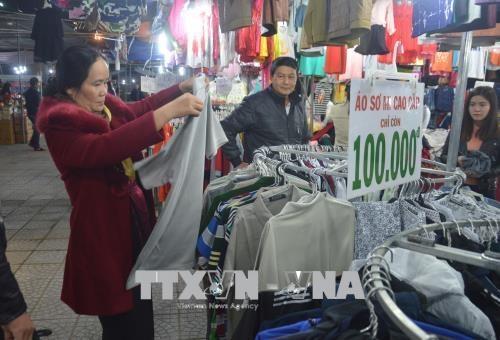 2018年岘港市春节年货展销会热闹开展 hinh anh 2