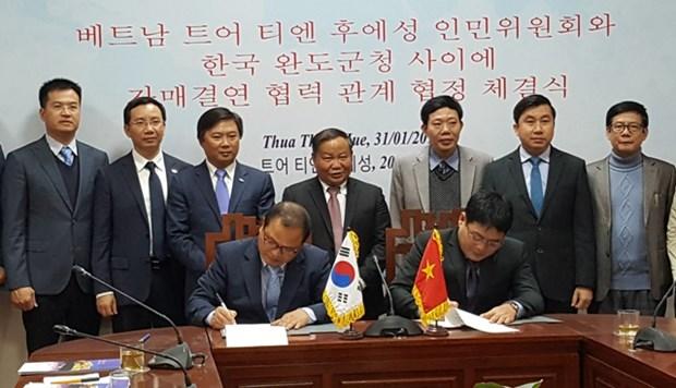 承天顺化省深化与韩国的合作 hinh anh 1