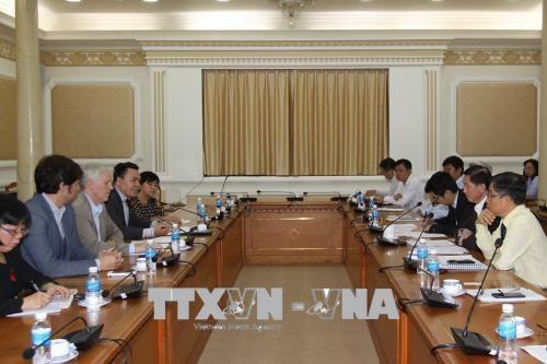 ADB承诺为胡志明市基础设施建设提供支持 hinh anh 1