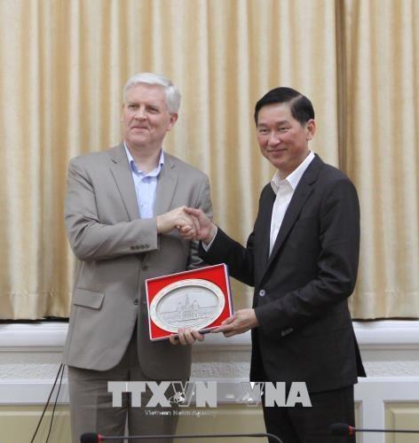 ADB承诺为胡志明市基础设施建设提供支持 hinh anh 2