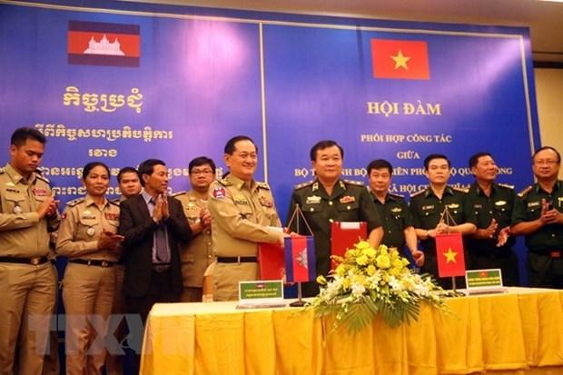 越南深化与柬埔寨的睦邻友好关系 hinh anh 1