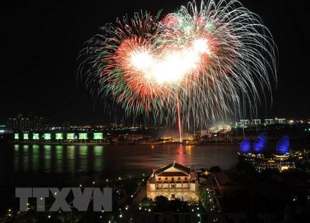 河内市将在30处燃放烟花喜迎2018年春节 hinh anh 1
