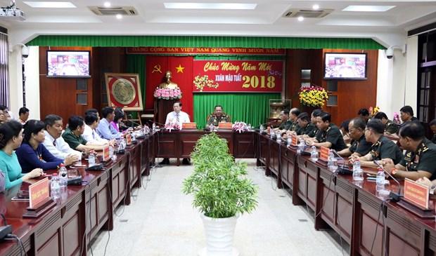 越柬两国增强地方间的团结和友谊 hinh anh 2