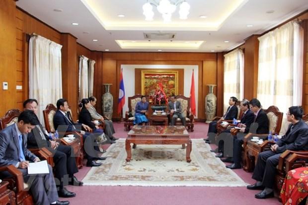 老挝人民革命党中央对外部部长:越南的成就和胜利为老挝的发展注入动力 hinh anh 2