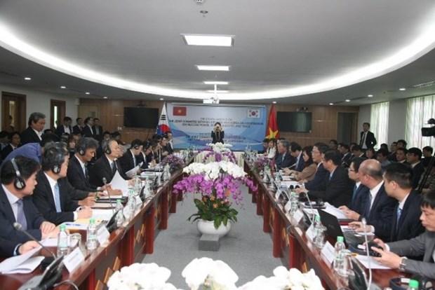 越韩力争至2020年将双向贸易额提升为1000亿美元 hinh anh 1